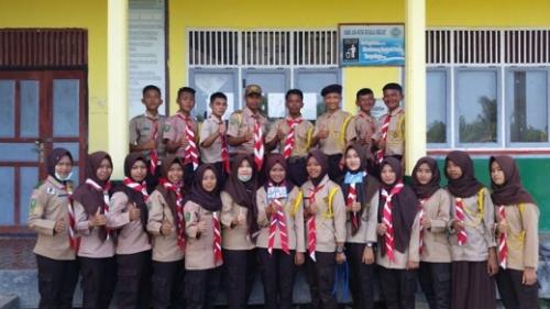 Sukseskan Perkemahan Prestasi Terpadu, SMK An-Nur Kuala Selat Kirim 25 Pelajar ke Sungai Sirih