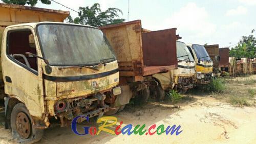 Tak Laku, Sepuluh Kendaraan Dinas Pemkab Pelalawan Akan Dilelang Ulang