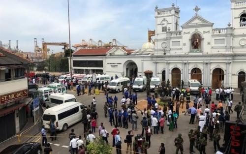 Jumlah Korban Teror Bom di Sri Lanka Bertambah, 207 Orang Tewas dan 450 Terluka