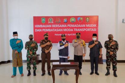 Pengumuman Baru, Gubernur Riau Tidak Larang Mudik Lokal, Kalau Sakit Tak Boleh