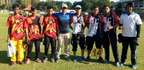 Atlet Panahan Riau Baru Koleksi 2 Medali di Kejuaraan Surabaya International Open Archery Tournament, Muslim: Mental Bertanding Masih Perlu Diasah