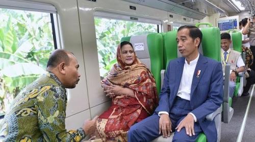 Jokowi Resmikan Kereta Bandara Minangkabau Ekspres, Stasiunnya di Simpang Haru, Harga Tiket Rp10 Ribu