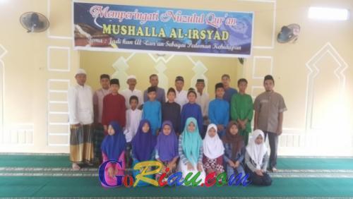 Pengurus Mushalla Al-Irsyad Santuni 40 Anak Yatim