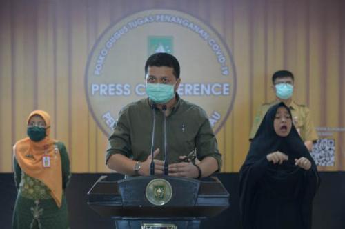 Update Kasus Covid-19 di Riau Per 21 Mei: Terjadi Penambahan 1 Kasus Positif, Total 108 Kasus Positif