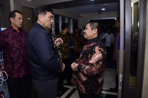 Bupati Bengkalis Hadiri Rakor dengan Menko Kemaritiman di Jakarta, Bahas Percepatan Penanggulangan Abrasi