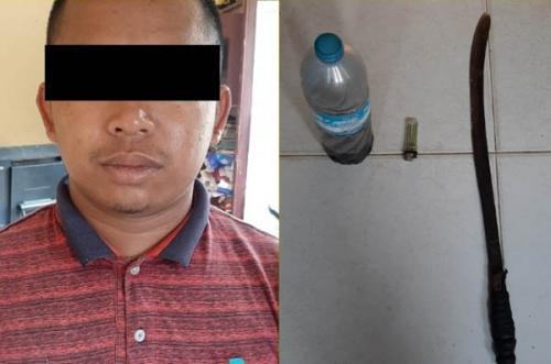 Bakar 2 Hektare Lahan dengan Bensin dan Oli, Irwan Ditangkap Polisi