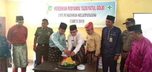 Posyandu Tazkiyatul Qolbi untuk ODGJ di Kepulauan Meranti Diresmikan