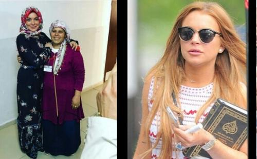 Dikabarkan Mualaf karena Bawa Alquran dan Berhijab, Ini Jawaban Artis Cantik Lindsay Lohan
