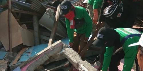 Sejumlah Relawan Hilmi FPI Tertimbun Longsor di Sigi