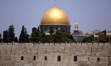 653 Pemukim Yahudi Didukung Polisi Israel Serbu Kompleks Masjid Al-Aqsa