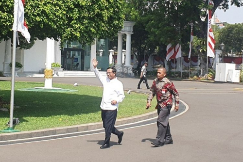 Usai Temui Jokowi di Istana, Mahfud MD Mengaku Ditunjuk Jadi Menteri, Dilantik Lusa