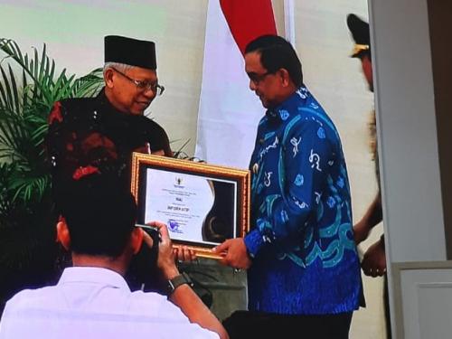 Pemprov Riau Terima Penghargaan Terbaik untuk KIP, Wagubri: Sayang, Ada Kepala OPD Belum Mendukung Keterbukaan Informasi Publik