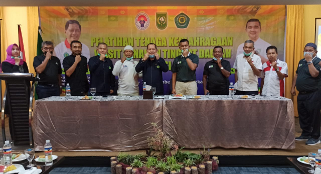 Dispora Riau Taja Pelatihan Wasit Panahan Tingkat Daerah
