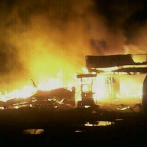 Habiskan 6 Rumah Warga Inhil, Api Juga Sebabkan Seorang Bocah 5 Tahun Terluka