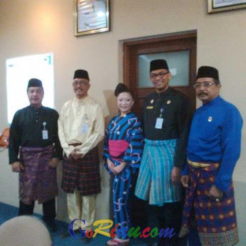 Keliling Indonesia, Duta Wisata Jepang Malah Tertarik Kolaborasi Kebudayaan Tari dengan Riau