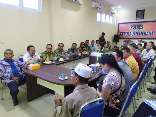 Jelang Imlek, Polres Kepulauan Meranti bersama Stakeholder Terkait Gelar Rapat Persiapan Pengamanan
