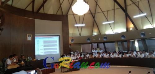 Pemprov Targetkan LKPJ Kepala Daerah dan LPPD Provinsi Riau Tahun 2019 Tuntas Maret Ini