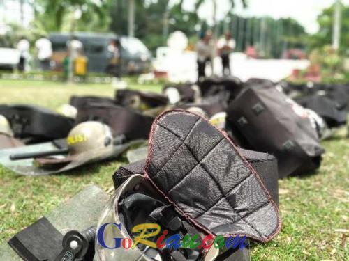 Amankan Unjuk Rasa Mahasiswa Perwakilan BEM se-Indonesia, Kapolresta Pekanbaru Perintahkan Jajarannya jangan Bawa Senjata Api