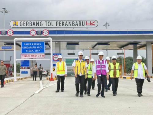 Kunjungan Presiden ke Riau, Syahrul Aidi: Jangan Jalan Tol Saja yang Dibangun, Tapi Juga Jalan Umum