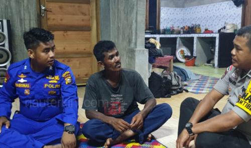 Terombang Ambing di Laut, Nelayan Malaysia Diselamatkan Nelayan Bengkalis