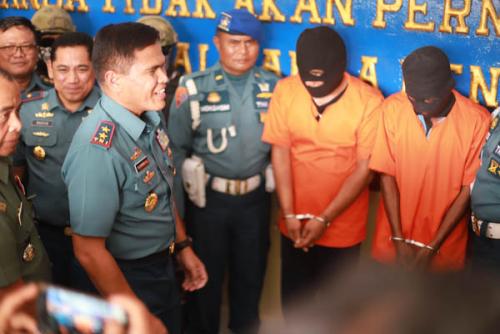 Lanal Dumai Gagalkan Penyelundupan 63 Ribu Butir Pil Ekstasi dan 11 Kg Sabu