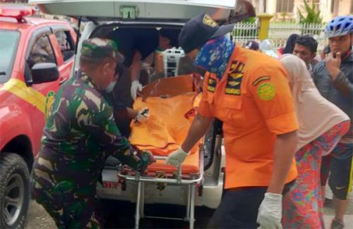 Empat Pelajar yang Tenggelam di Sungai Indragiri Berhasil Ditemukan Dalam Keadaan Meninggal Dunia
