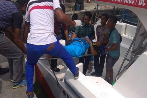 Kapal Bermuatan 45 Pegawai Dishub Meledak di Pulau Panggang