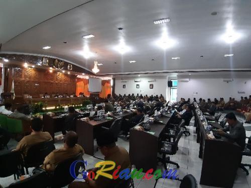 Pasca Pileg, Banyak Anggota DPRD Kuansing Kosongkan Kursi