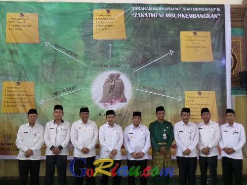 Potensi Zakat di Riau Sangat Tinggi, Gubri Ajak Muzaki Zakatkan Hartanya Lewat Wadah Resmi
