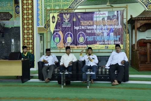 Baznas Bengkalis Taja Talkshow Panggung Zakat