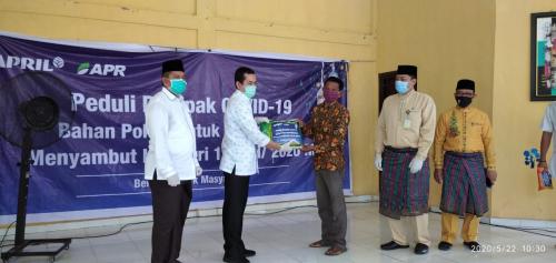 Jelang Lebaran, RAPP dan APR Salurkan 1.293 Paket Sembako di Kabupaten Siak