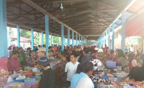 Pedagang Takjil Pindah, Dinas Pasar Meranti Pasrah