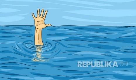 Perahu yang Ditumpangi Anggota TNI Sekeluarga Seberangi Sungai Karam, 1 Tewas dan 1 Hilang