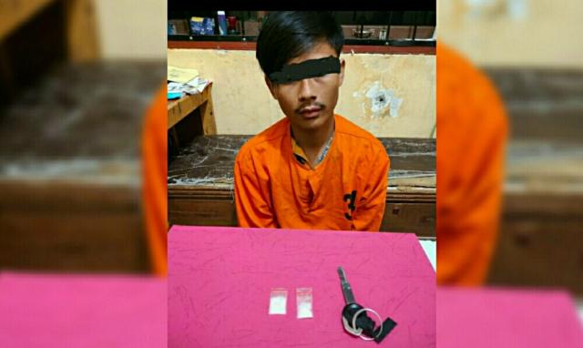 Bawa Sabu, Seorang Kurir Ditangkap di SPBU Bandar Seikijang Pelalawan