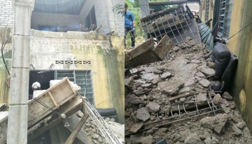 Wanita Hamil Tertimbun Bangunan Rubuh di Sungai Buloh, Suami Tewas Kesetrum Saat Menolong
