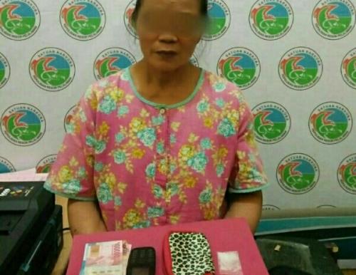 Kurir Nyanyi, Nenek 57 Tahun Bandar Sabu di Pelalawan Ditangkap
