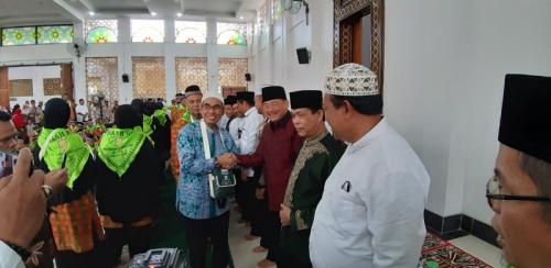 Halim Doakan Mursini dan 291 Orang JCH Kuansing Mendapat Haji yang Mambrur