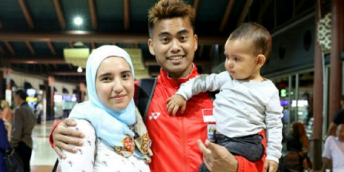 Sempat Telepon Sebelum Final, Ini 2 Pesan Istri yang Bakar Semangat Tontowi Ahmad