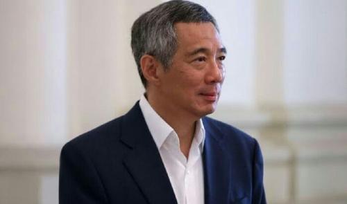 PM Singapura Mendadak Pingsan Saat Berpidato