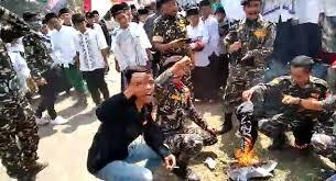 Gubernur Jabar Sesalkan Aksi Banser Bakar Bendera Tauhid