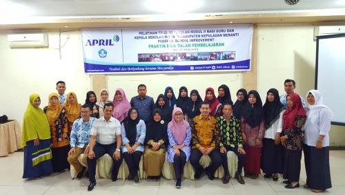 Program School Improvement CD PT RAPP Diharap Berdampak pada Peningkatan Mutu Pendidikan di Meranti
