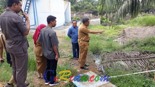 Tak Hanya Sampah Medis Berserakan, Sidak DPRD Pelalawan ke RSUD Selasih Dapati Air Limbah Dibuang Tanpa Diolah
