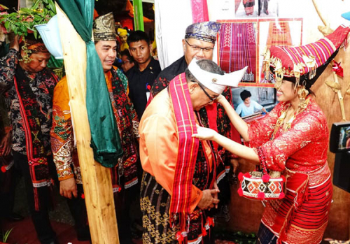 Pekan Seni Budaya Riau Kompleks 2019, Pawai Budaya Menarik Perhatian Pengunjung