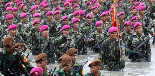 Pasukan Marinir Siap Amankan Demo 2 Desember