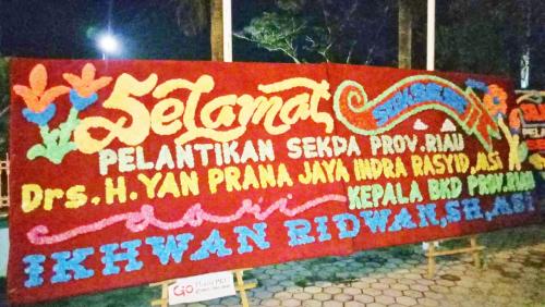 Sah, Yan Prana Jaya Dilantik sebagai Sekdaprov Riau Defenitif