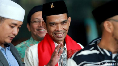 Ceramah di Bogor, Ustaz Abdul Somad: Mudah-mudahan Masjid Ini Tak Kena Periksa