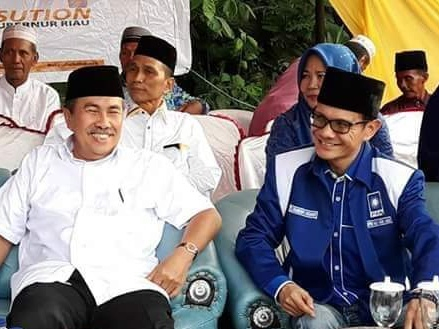 Sekdaprov Riau yang Baru Diharapkan Bisa Jadi Lokomotif ASN Pemprov dan Mewujudkan Visi Misi Syam - Edy