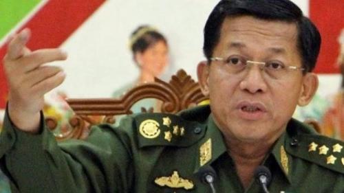 Jenderal Myanmar Dalang Pembantaian Muslim Rohingya Disanksi AS