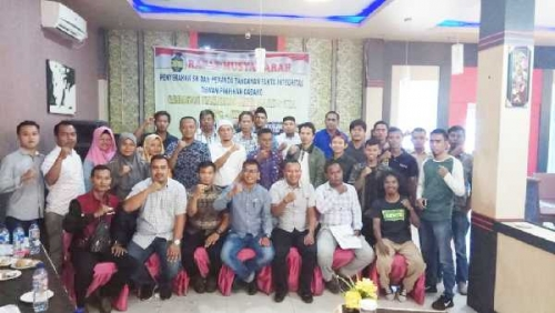 Berantas Narkoba, DPC Granat Kepulauan Meranti Gelar Rapat Musyawarah Penyerahan SK dan Penandatanganan Fakta Integritas