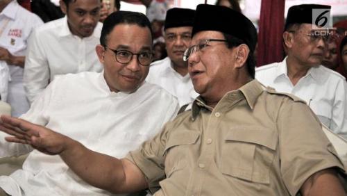 Hasil Survei Indo Barometer, Prabowo dan Anies Baswedan Capres Terkuat pada Pilpres 2024